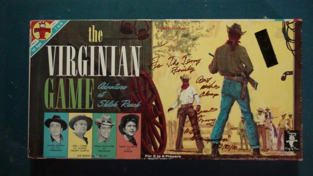 The Virginian Board Game